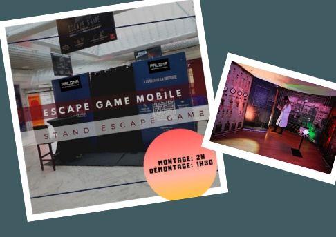 escape game mobile centre commercial