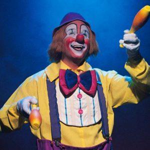 clown jongleur arbre de noel