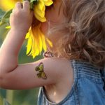 tatouage ephemere arbre de noel