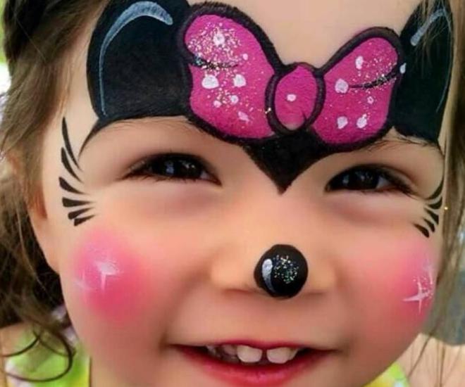 stand maquillage enfant noel