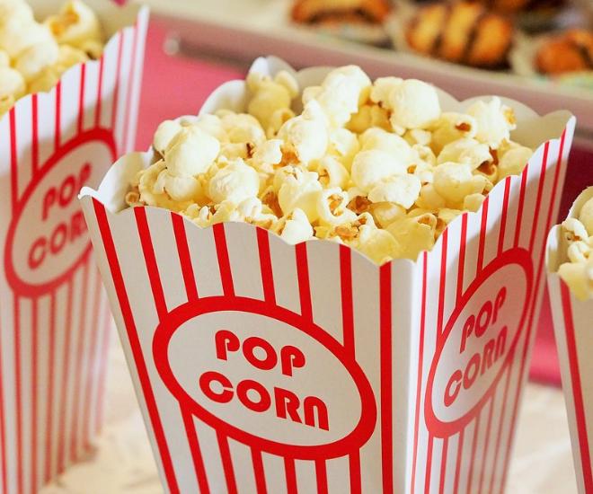 stand pop corn gouter noel
