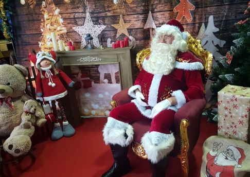 animation stand du pere noel