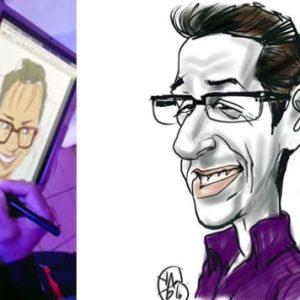 animation caricature digitale