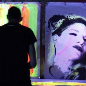 animation artistique live painting