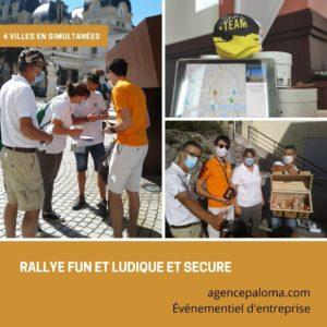 teambuilding rallye tablette multi villes