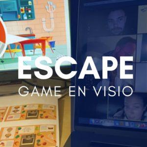 Escape game en visio