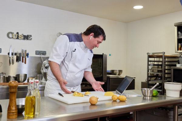 chef cuisinier à distance