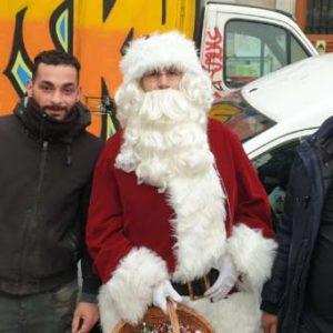 animation Noël marché