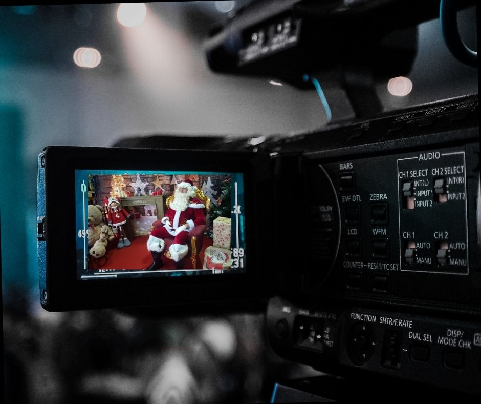 message video personnalise pere noel