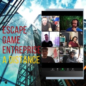 escape game entreprise a distance