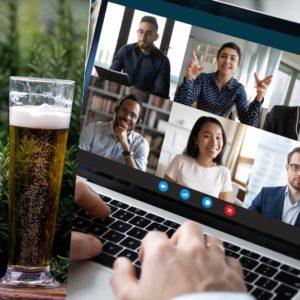 team building biere virtuel