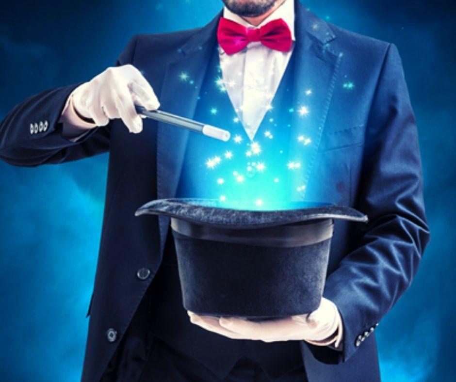 spectacle de magie en visio