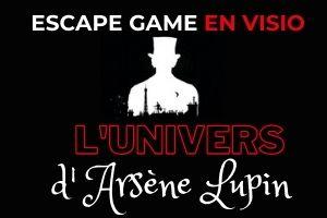 escape game en ligne Arsene lupin